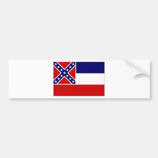 United States Mississippi Flag Bumper Stickers