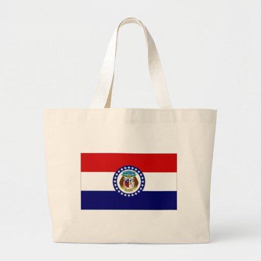 United States Missouri Flag Tote Bag