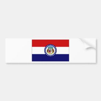 United States Missouri Flag Bumper Sticker