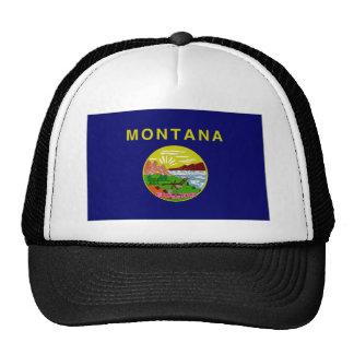 United States Montana Flag Mesh Hats