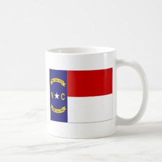 United States North Carolina Flag Coffee Mug