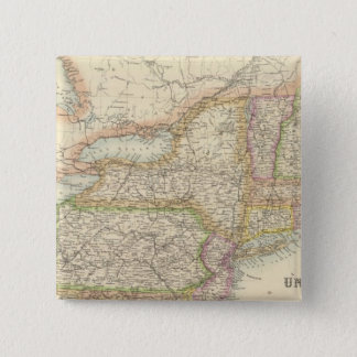 United States North Eastern States 15 Cm Square Badge