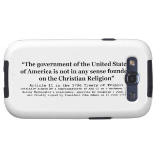United States Not Founded on Christian Religion Samsung Galaxy S3 Cover
