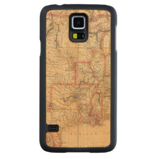 United States of America 12 Carved Maple Galaxy S5 Case