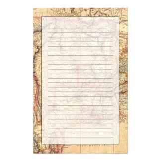 United States of America 12 Personalized Stationery
