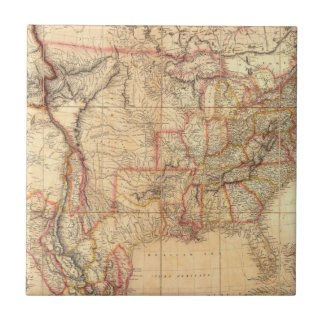 United States of America 12 Small Square Tile