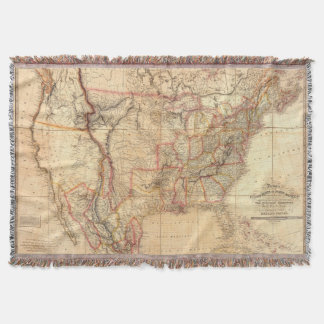 United States of America 12 Throw Blanket