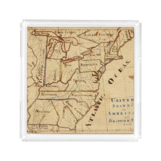 United States of America 2 Acrylic Tray