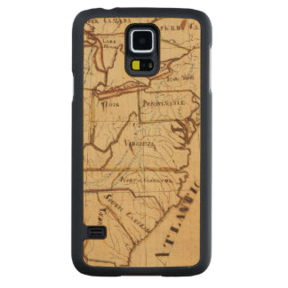 United States of America 2 Carved Maple Galaxy S5 Case