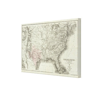 United States of America 3 Canvas Print