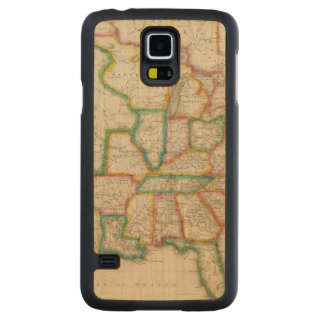 United States of America 4 Carved Maple Galaxy S5 Case