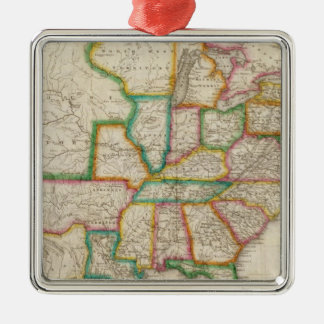 United States of America 4 Christmas Ornament