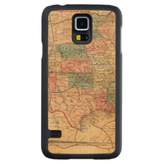 United States of America 8 Carved Maple Galaxy S5 Case