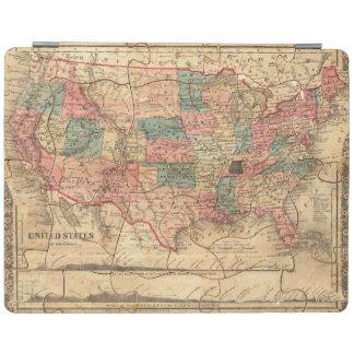 United States of America 8 iPad Cover