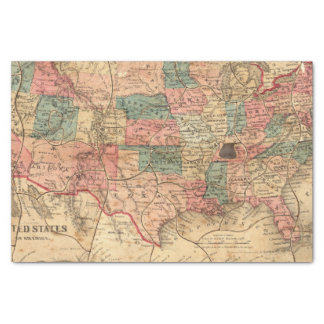 United States of America 8 Tissue Paper