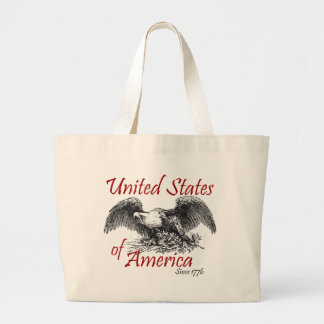 United States of America Canvas Bags