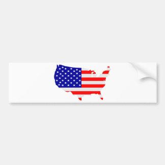 United States of America Bumper Sticker