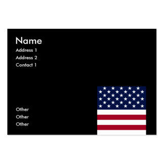 United States of America Business Card Template