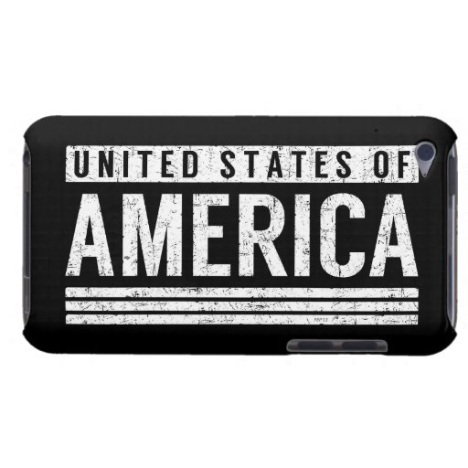 United States of America iPod Touch Case