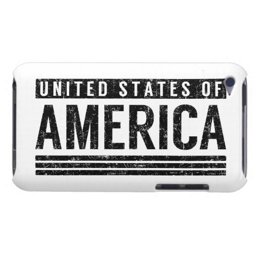 United States of America Barely There iPod Covers