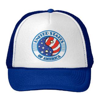 UNITED STATES OF AMERICA COLOR CAP