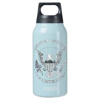 United States of America Distressed Insulated Water Bottle