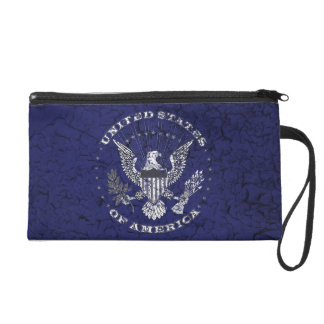 United States of America Distressed Wristlet