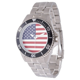 United States of America Flag 2 Watches