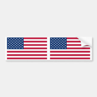 United States of America Flag Bumper Stickers