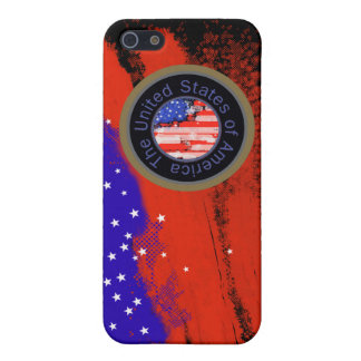 united states of america flag case for iPhone 5/5S