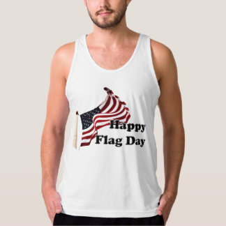 United States of America Flag Day Tank Tops