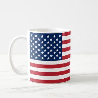 United States of America Flag   Patriotic Coffee Mug