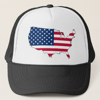 United States of America Flag Trucker Hat