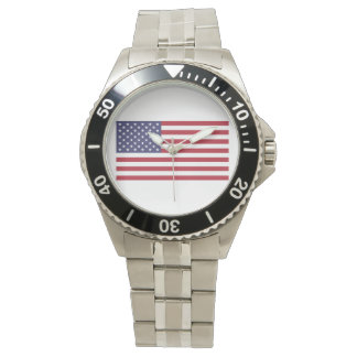 United States of America Flag Watch