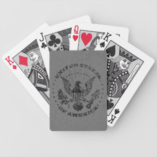 United States of America Grunge Playing Cards