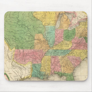 United States of America History Map Mouse Mat