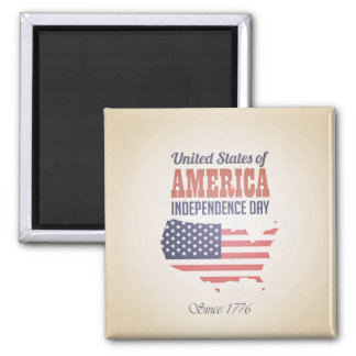 United States of America Independence Day Magnet