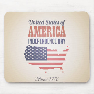 United States of America Independence Day Mouse Pad