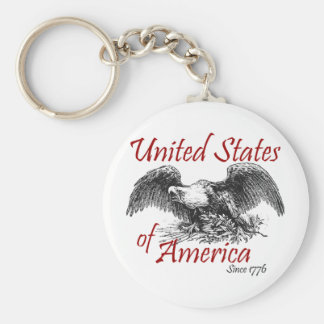 United States of America Key Chains