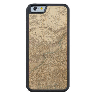 United States of America North east Carved Maple iPhone 6 Bumper Case