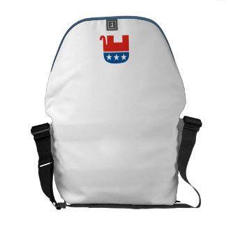 united states of america republican party elephant commuter bag