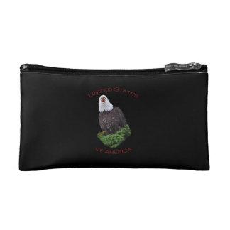 United States of America Screaming Eagle Makeup Bag