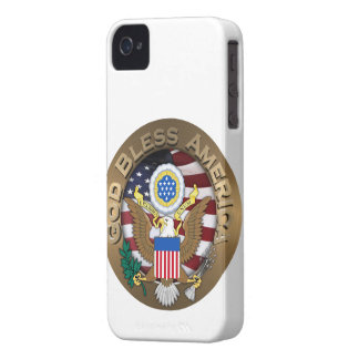 United States of America Seal - God Bless America Blackberry Bold Case