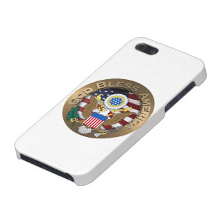 United States of America Seal - God Bless America Covers For iPhone 5