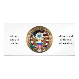 United States of America Seal - God Bless America Magnetic Invitations
