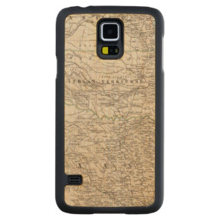 United States of America South Indian Territory Carved Maple Galaxy S5 Case