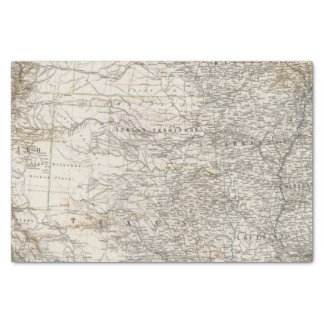 United States of America South Indian Territory Tissue Paper
