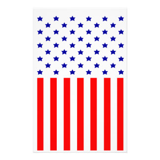 United States of America Customized Stationery