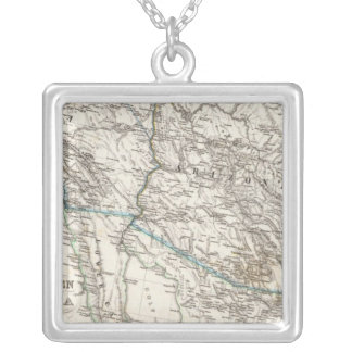 United States of America West Silver Plated Necklace