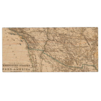 United States of America West Wood USB Flash Drive